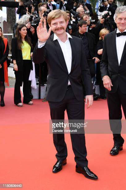 """Guest attends the screening of """"Once Upon A Time In Hollywood"""" during the 72nd annual Cannes Film Festival on May 21, 2019 in Cannes, France."""