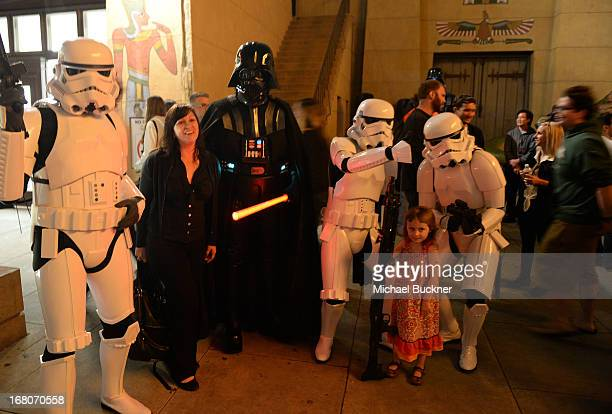 A guest attends the screening of Star Wars Return of the Jedi during Entertainment Weekly CapeTown Film Festival Presented By The American...