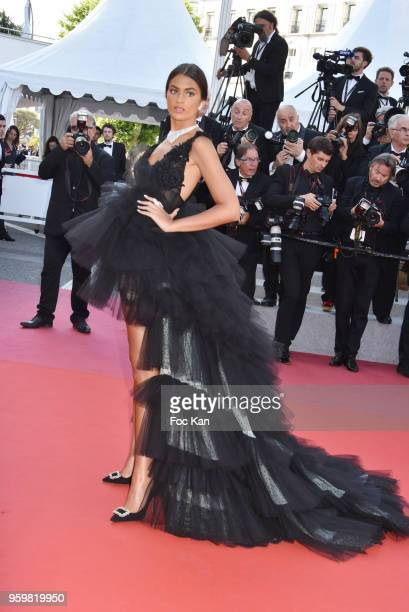 A guest attends the screening of'Capharnaum' during the 71st annual Cannes Film Festival at Palais des Festivals on May 17 2018 in Cannes France