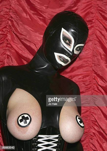 Guest attends the Skin Two Rubber Ball at SEOne on October 8, 2005 in London, England. The 14th annual event is the world's premier celebration of...