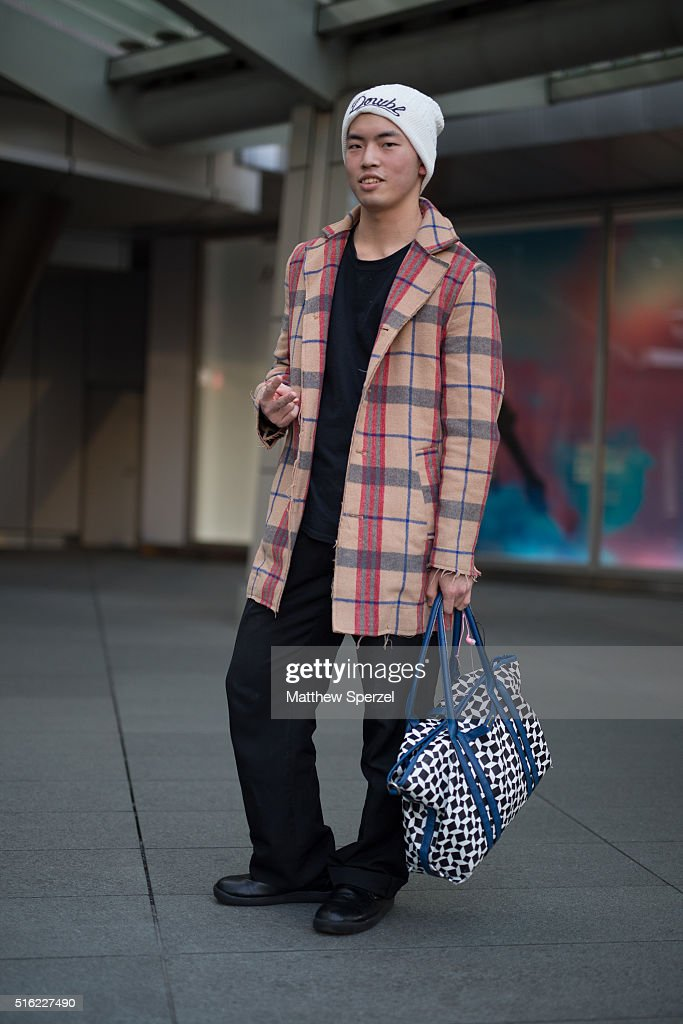 A Guest Attends The TAE ASHIDA Show During Tokyo Fashion Weekon March 17 2016 In