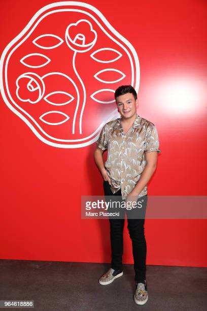 A guest attends the #Ultimune Launch Event on May 31 2018 in Paris France