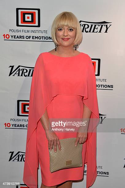 Guest attends the Variety party celebrating the Polish Film Institute's 10th Anniversary at Rado Plage on May 18 2015 in Cannes City