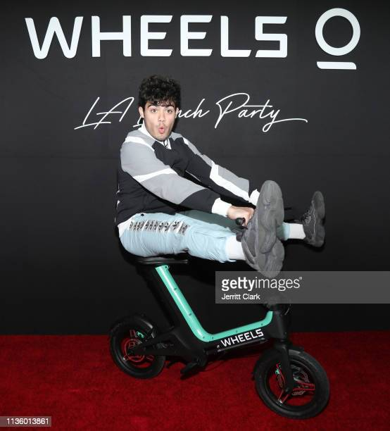 Guest attends the Wheels LA Launch at Sunset Tower on March 14 2019 in Los Angeles California