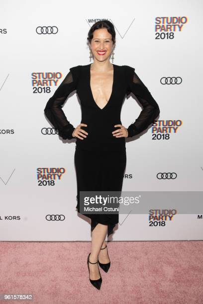Guest attends the Whitney Museum Celebrates The 2018 Annual Gala And Studio Party at The Whitney Museum of American Art on May 22 2018 in New York...
