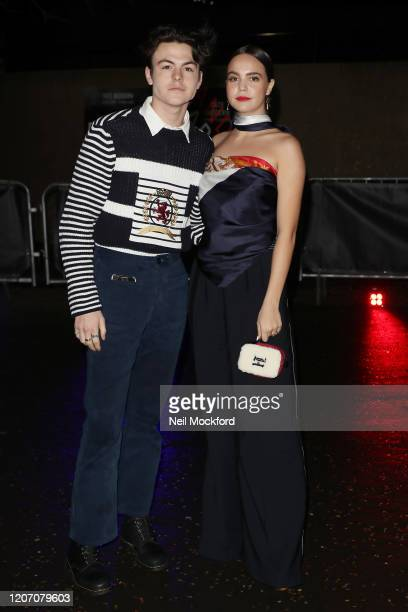 Guest attends Tommy Hilfiger at Tate Modern during LFW February 2020 on February 16 2020 in London England