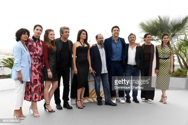 Guest Barbara Lennie Carla Campra actor Ricardo Darin actress Penelope Cruz wearing jewels by Atelier Swarovski Fine Jewelry director Asghar Farhadi...