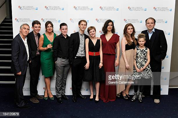 Guest Bill Milner Clare Burt George Sargeant Robert Emms Eloise Laurence Zana Marjanovic Faye Daveney guest and Rory Kinnear attend the premiere of...