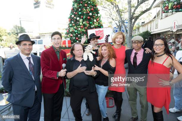 Guest BJ Korros Jimmy Rooney Dillon Campbell Mallory Lewis Lamb Chop and Kiki Ebsen Clinton H Wallace and Joyce Chow attend The Salvation Army...