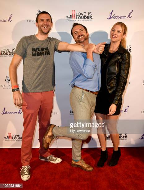 Guest Brian Rodda and Hilary Barraford attend ÒGive Me Your HandÓ By Shannon K Video Release Event Supporting Love Is Louder Cha on October 18 2018...