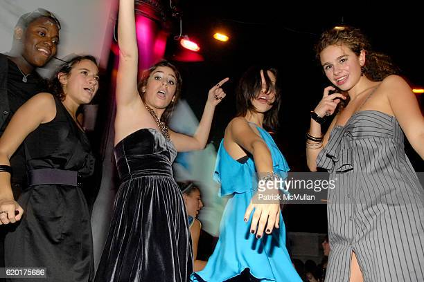 Natalie Coppa Cara Greenspan Remy Geller and Sara Foresi attend Party 4 a Cause at The Ultra on November 8 2008 in New York City