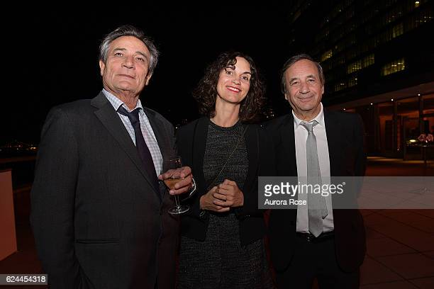 Guest Caroline Behar and Richard Melloul attend International Emmys Festival Opening Party Hosted by JCS International at United Nations on November...