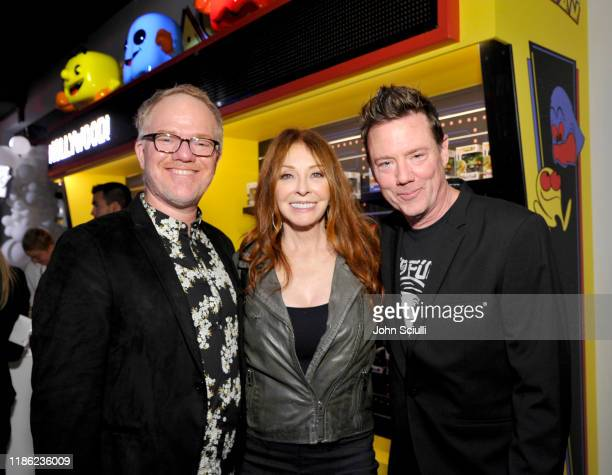 Guest Cassandra Peterson and Mike Becker attend the Funko Hollywood VIP Preview Event at Funko Hollywood on November 07 2019 in Hollywood California