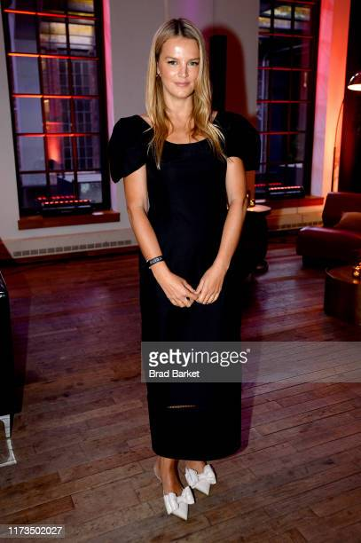 A guest celebrates the launch of YouTubecom/Fashion on September 09 2019 in New York City