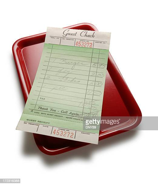 guest check - receipt stock pictures, royalty-free photos & images