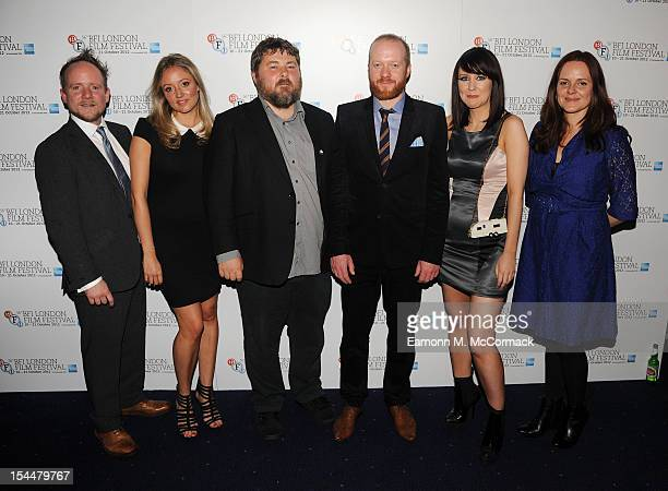 Guest Claire Jones Ben Wheatley Steve Oram Alice Lowe and Nira Park attend the Premiere of 'Sightseers' during the 56th BFI London Film Festival at...