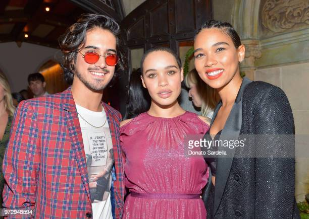 Guest Cleopatra Coleman and Alexandra Shipp wearing Max Mara attend the Max Mara Celebration for Alexandra Shipp 2018 Women In Film Max Mara Face Of...