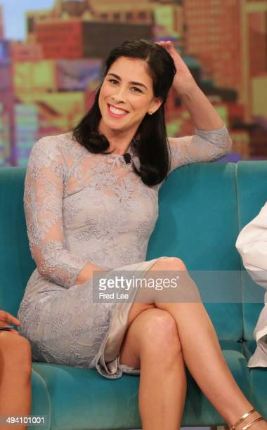 THE VIEW Guest cohost and political commentator Margaret Hoover Sarah Silverman actor Don Johnson fun summer products and singer Sara Evans 'The...
