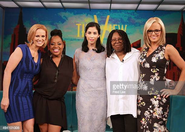 THE VIEW Guest cohost and political commentator Margaret Hoover Sarah Silverman actor Don Johnson fun summer products and singer Sara Evans The View...