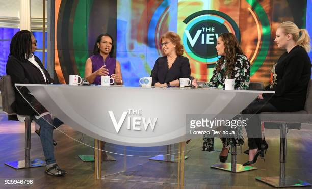 THE VIEW Guest cohost Condoleezza Rice and guest Representative Adam Schiff appeared today Thursday March 1 2018 on ABC's 'The View' 'The View' airs...