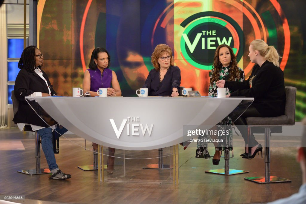 THE VIEW - Guest co-host, Condoleezza Rice and guest, Representative Adam Schiff appeared today, Thursday, March 1, 2018 on ABC's 'The View.' 'The View' airs Monday-Friday (11:00 am-12:00 pm, ET) on the ABC Television Network. MCCAIN