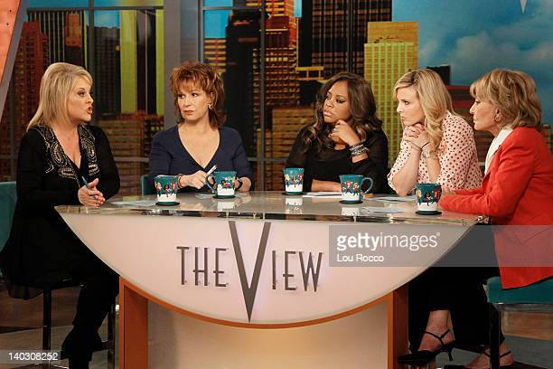 THE VIEW Guest cohost Nancy Grace appeared today on The View along with guests Zac Efron and US Olympic Boxing hopeful Quanitta Underwood and her...