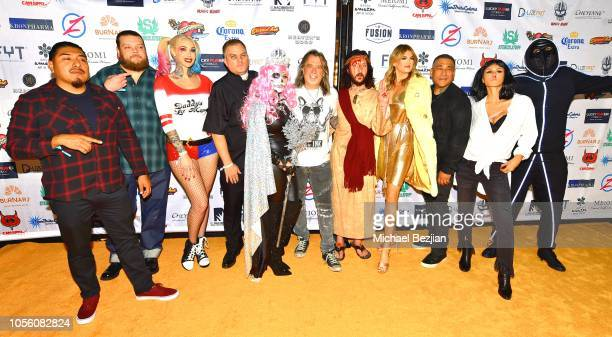 Guest Corey Harrison Sabina Kelly Katie Schaa Mario Barth Mickey Avalon guest Mario Rosenau Brittany Furlan and Tommy Lee attend Tat2ween Opening...