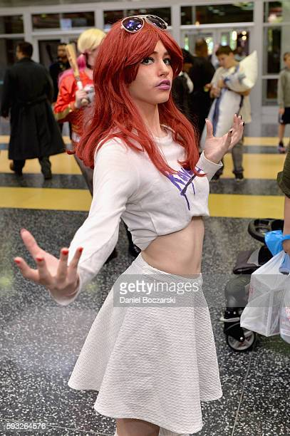 Guest cosplays during Wizard World Comic Con Chicago 2016 Day 4 at Donald E Stephens Convention Center on August 21 2016 in Rosemont Illinois