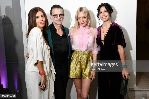 Guest Dave Gahan Chloe Sevigny and Jennifer SkliasGahan attend Planned Parenthood Of New York City Spring Gala Honoring Cecile Richards And Laverne...