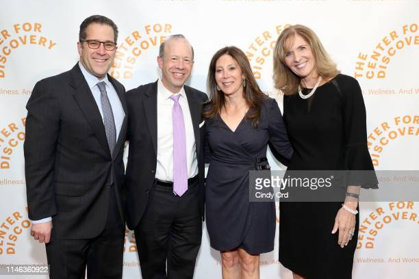 A guest David Robbins Jill Robbins and Terry Hamlin attend The Center for Discovery's 23rd annual Evening of Discovery Gala on May 01 2019 in New...