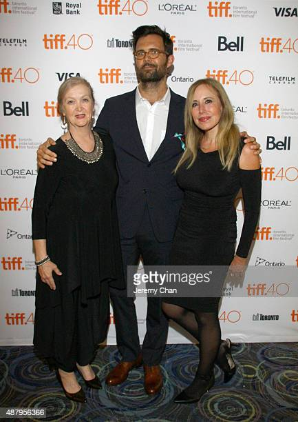 Guest director/screenwriter Oz Perkins and Syndey Perkins attend the 'February' photo call during the 2015 Toronto International Film Festival at...