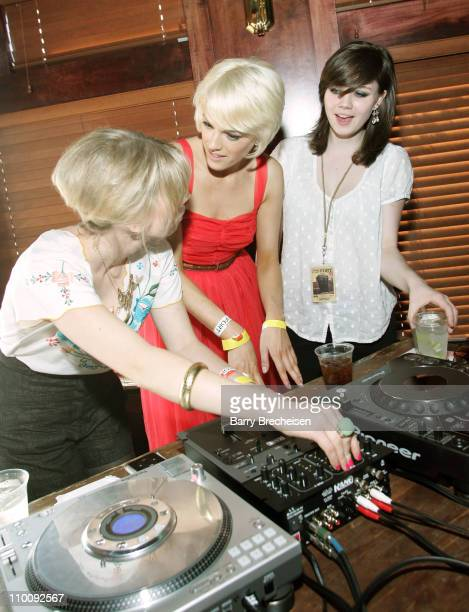 Guest DJ The Pipettes during 21st Annual SXSW Film and Music Festival Jane Magazine House at 401 Guadalupe St in Austin Texas United States
