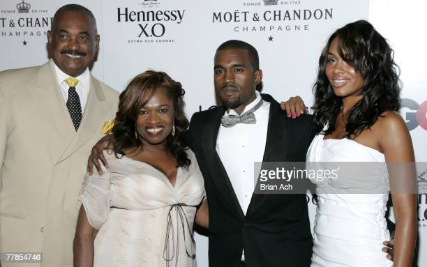 Guest Donda West Kanye West and Alexis Phifer