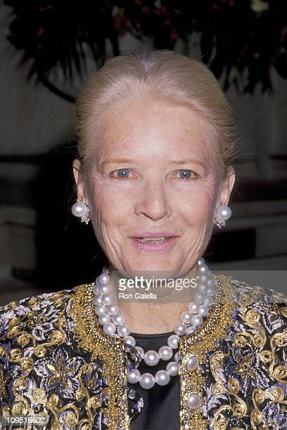 CZ Guest during Annual Costume Institute Gala Exhibition December 4 1989 at Metropolitan Museum of Art in New York City New York United States