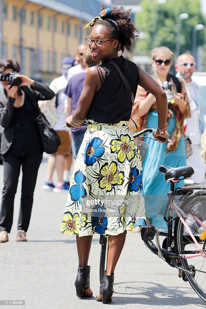 Street Style Day 1 - MFW S/S 2014 : Foto di attualità