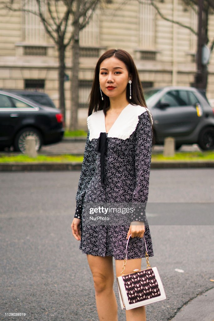 cd82d1028d Street Style - Paris Fashion Week Womenswear Fall/Winter 2019/2020 : Day  Nine
