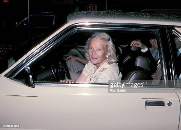 CZ Guest during Party For Diana Vreeland's Autobiography 'DV' at Mortimer's Restaurant in New York City New York United States