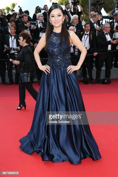 A guest during 'The Beguiled' premiere during the 70th annual Cannes Film Festival at Palais des Festivals on May 24 2017 in Cannes France