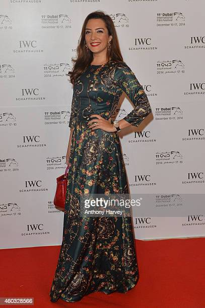 A guest during the IWC Filmmaker Award Night 2014 at The One Only Royal Mirage on December 11 2014 in Dubai United Arab Emirates