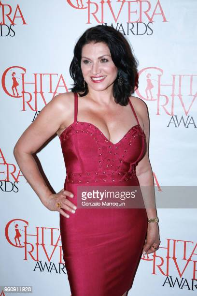 A guest during the The 2nd Annual Chita Rivera Awards Honoring Carmen De Lavallade John Kander And Harold Prince at NYU Skirball Center on May 20...