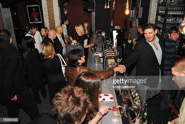 Guest enjoy the Erin Fetherston And Jalouse Magazine Party at Bella on February 4 2007 in New York
