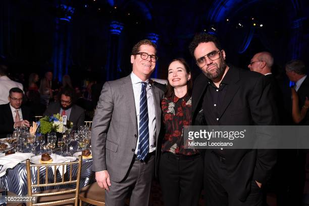 Guest enjoy The TJ Martell Foundation 43rd New York Honors Gala at Cipriani 42nd Street on October 15 2018 in New York City