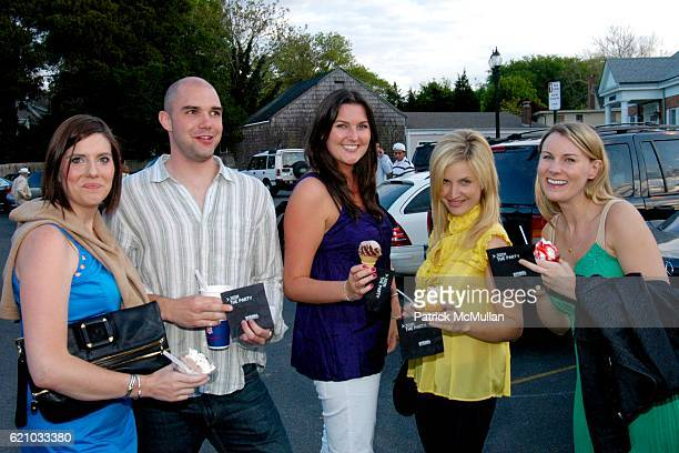 Guest Eric Heller Evelyn Murray Kelly Clark and Tiffany Piecewicz attend Maggie Rizer and Svedka Present the 5th Anniversary of Blue and Cream with...