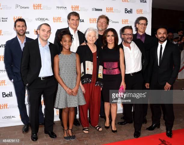 Guest executive producer Haytham Nasr actress Quvenzhane Wallis producer Clark Peterson codirector Joan C Gratz codirector Roger Allers...