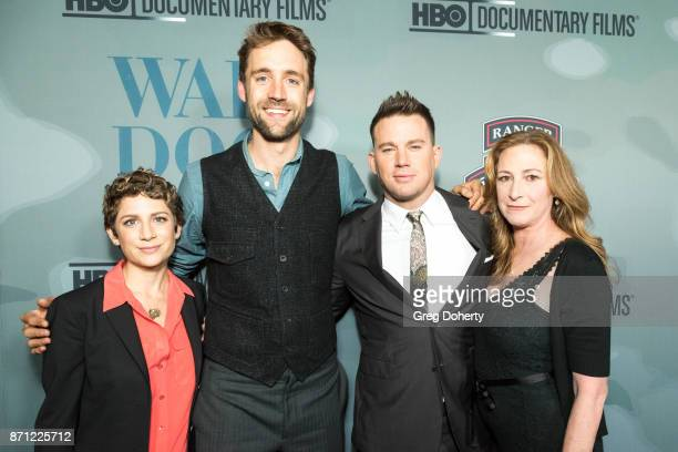 Guest Executive Producers Reid Carolin and Channing Tatum and Director Deborah Scranton attend the HBO And Army Ranger Lead The Way Fun Present The...