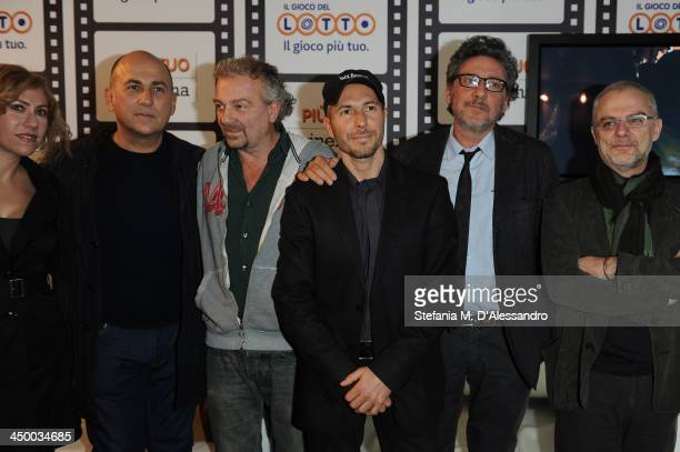 Guest Ferzan Ozpetek Giovanni Veronesi guest Sergio Castellitto and Daniele Luchetti attend the Casting Awards Ceremony during the 8th Rome Film...