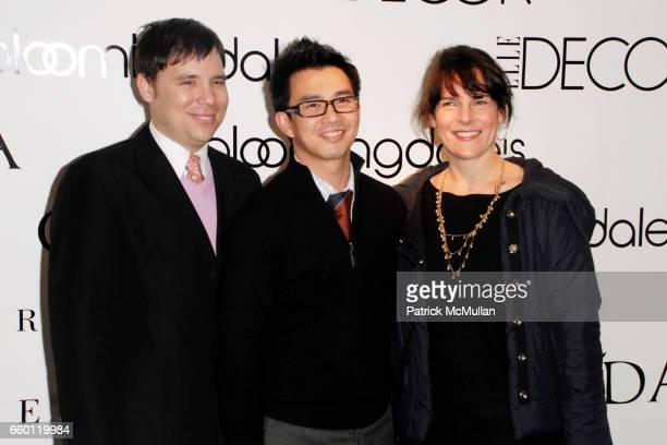Guest Goil Amornvivat and guest attend ELLE DECOR and BLOOMINGDALE'S Celebrate Reopening of Furniture Department With Auction Benefitting CFDA at...