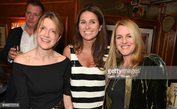 Guest guest and Laura Parker Bowles attend the Lady Garden VIP pub quiz in support of the Gynaecological Cancer Fund at Albert's Club on March 7 2017...