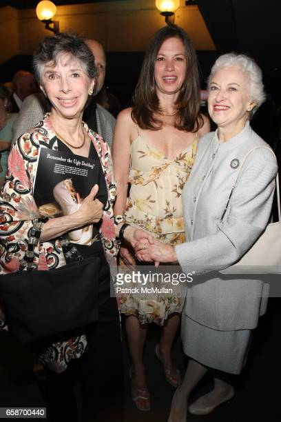 Guest, Guest and Violette Verdy attend The School of American Ballet Workshop Performance Benefit at Lincoln Center on June 1, 2009 in New York City.