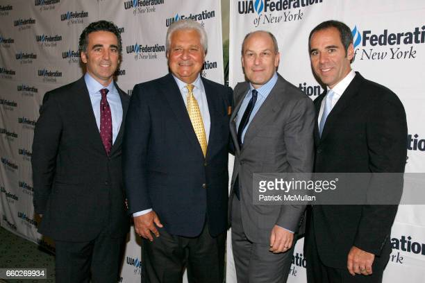 Guest, Guest, Barry Weiss and Guest attend UJA-FEDERATION OF NEW YORK honor BARRY WEISS with The Music Visionary of the Year Award at The Pierre on...